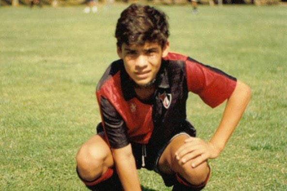 Rafael Márquez niño