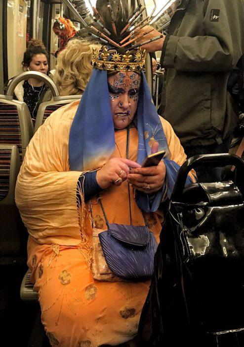 dracqueen en el metro