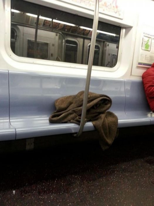 obi wan en el metro