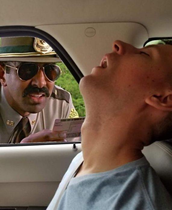 Hombre dormido batalla photoshop 3