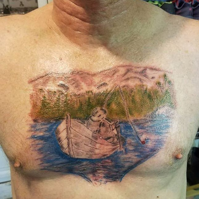 Tatuajes feos paisaje