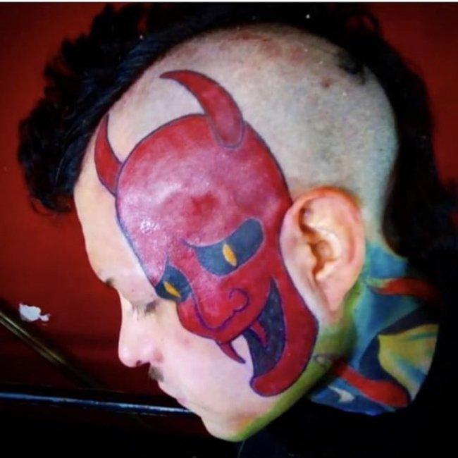 Tatuajes feos diablo