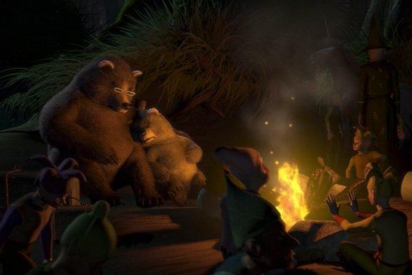 Shrek escena terrorífica