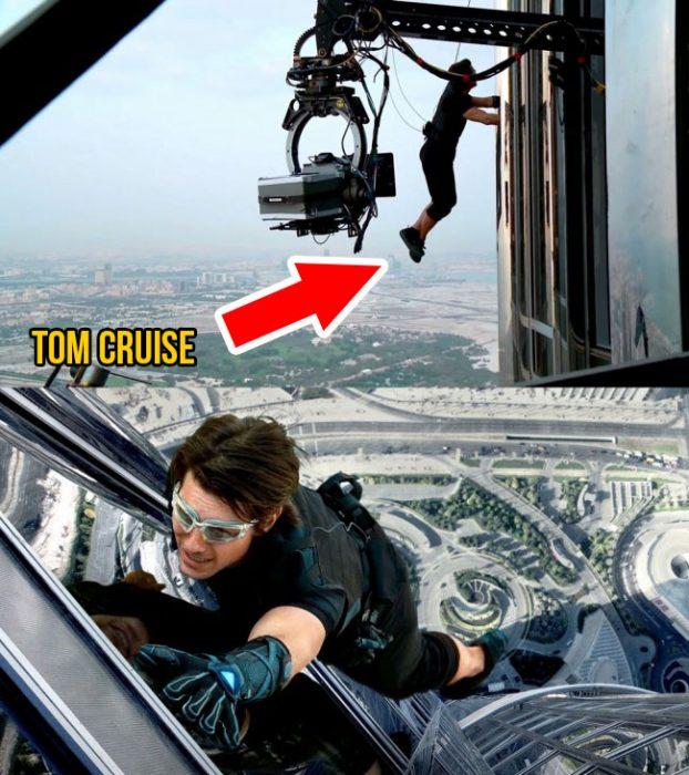 Escenas de acción de Tom Cruise