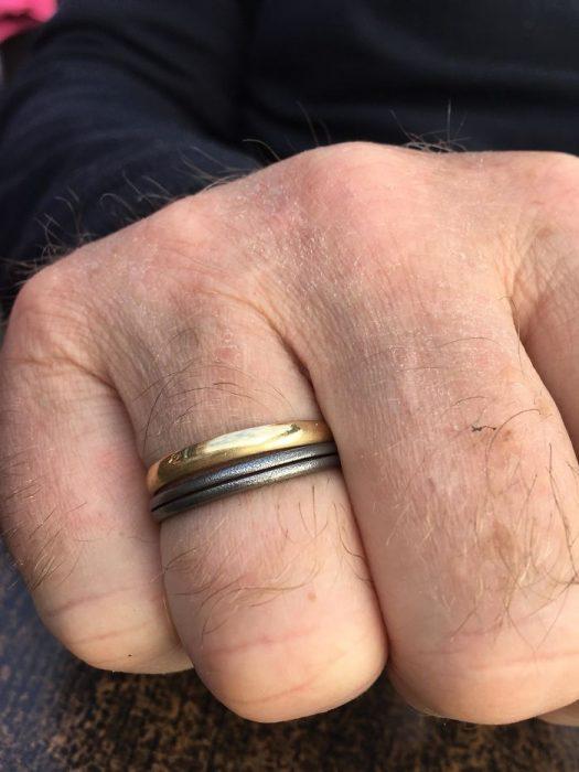 anillo de la hija