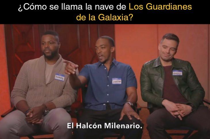Preguntas de Marvel falcon