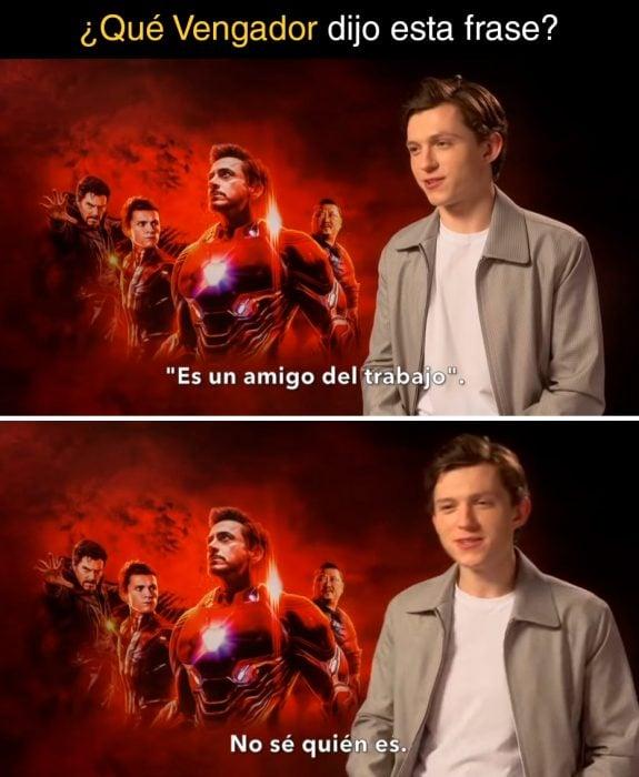 Preguntas de Marvel Holland