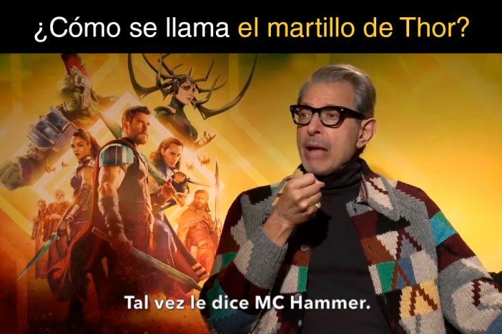 Preguntas de Marvel goldblum