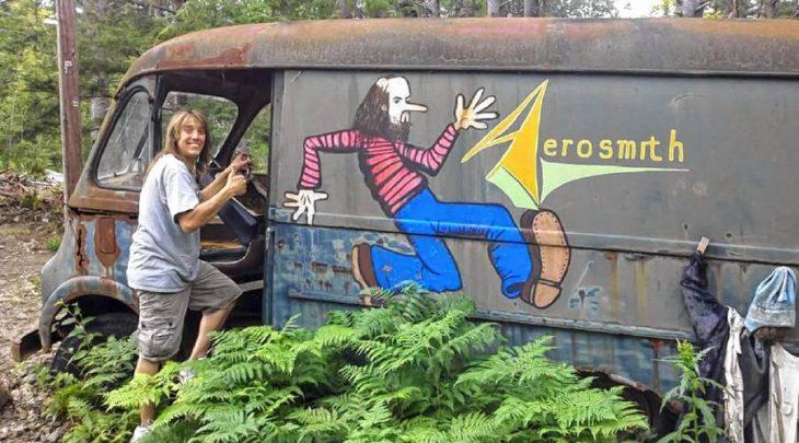 Van de Aerosmith en los 70