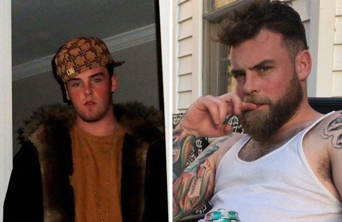 Antes y después de los memes