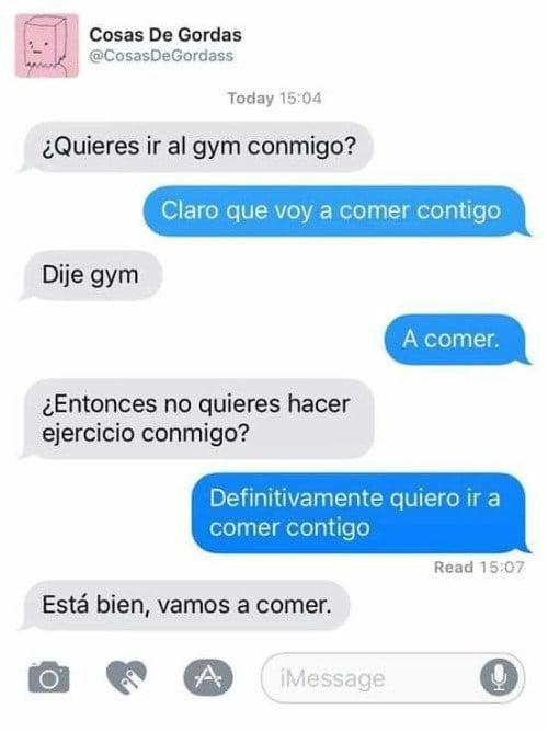 Conversaciones graciosas