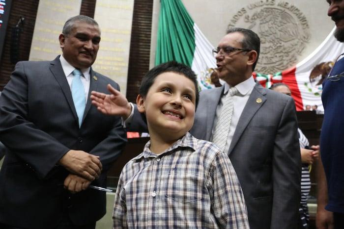 Carlos Santamaría en la Cámara de Diputados