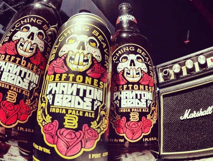 Cerveza de los Deftones