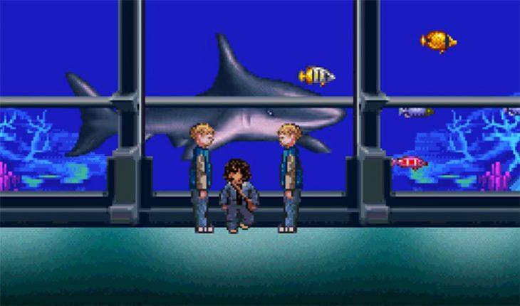 Aquaman en 8 bits