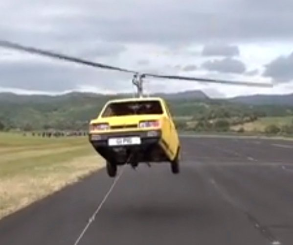 Auto helicóptero