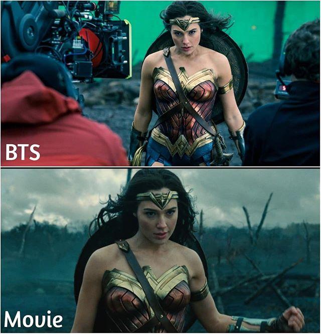 escenas películas wonder woman