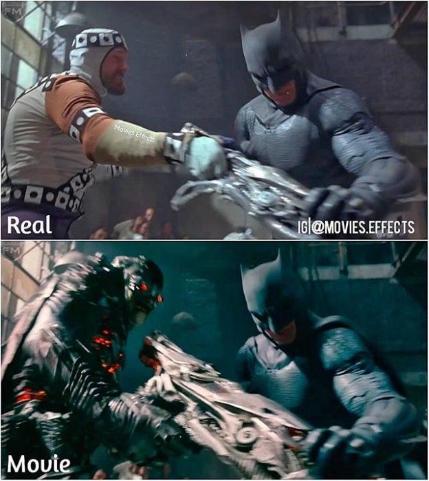 escenas películas liga justicia