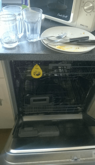 flojera lavaplatos