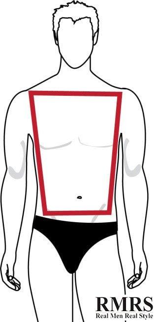 forma de cuerpo trapezio