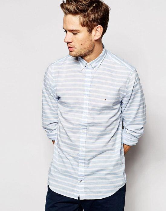 camisa lineas horizontales