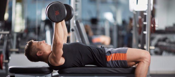 ejercicio en gimnasio