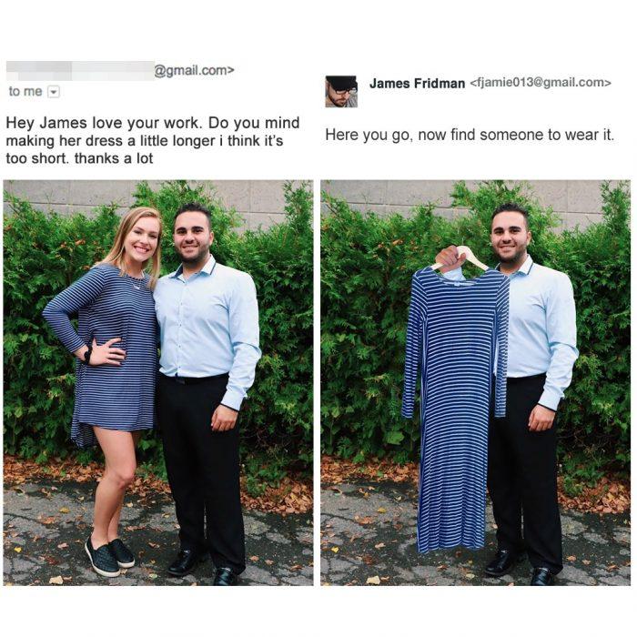 Photoshop vestido
