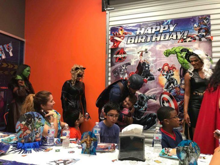 Cumpleaños con superhéroes