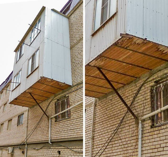 genios ingenieros balcón