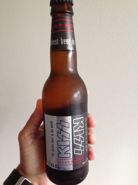 Cerveza de Kiss
