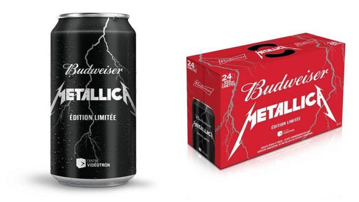Cerveza de Metallica