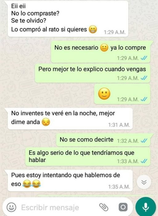 Broma en WhatsApp