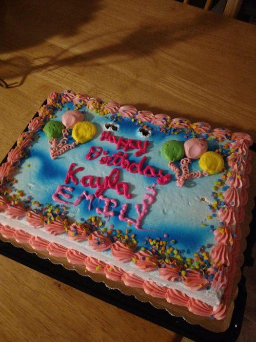 peor día pastel