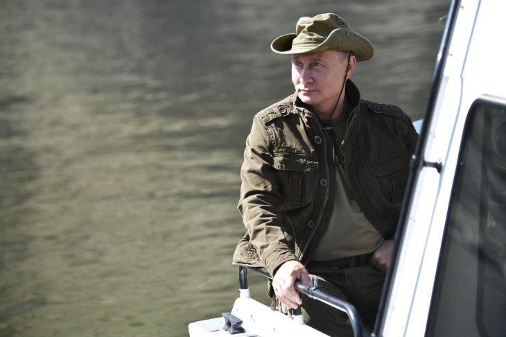 Vladimir putin de vacaciones