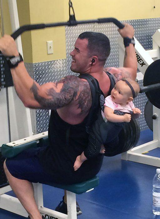 rarezas en gimnasio bebé
