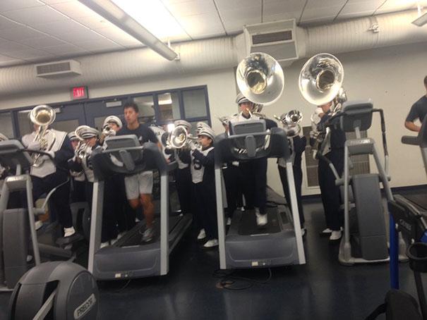 rarezas en gimnasio orquesta