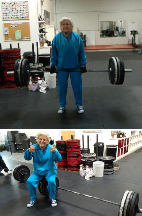 rarezas en gimnasio abuelita