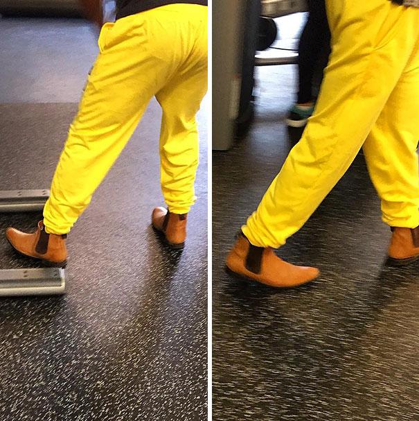 rarezas en gimnasio botas