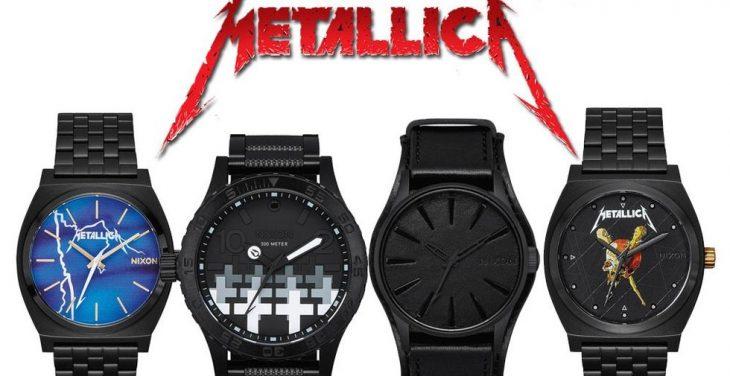 Relojes de Metallica