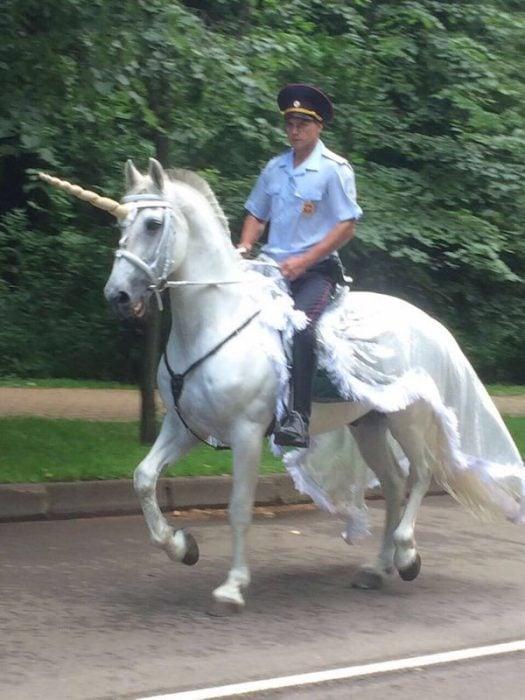 Cosas raras Rusia unicornio