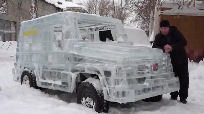 Cosas raras Rusia hielo