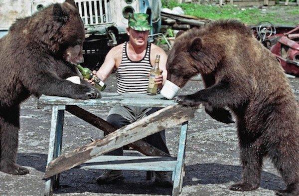 Cosas raras Rusia osos