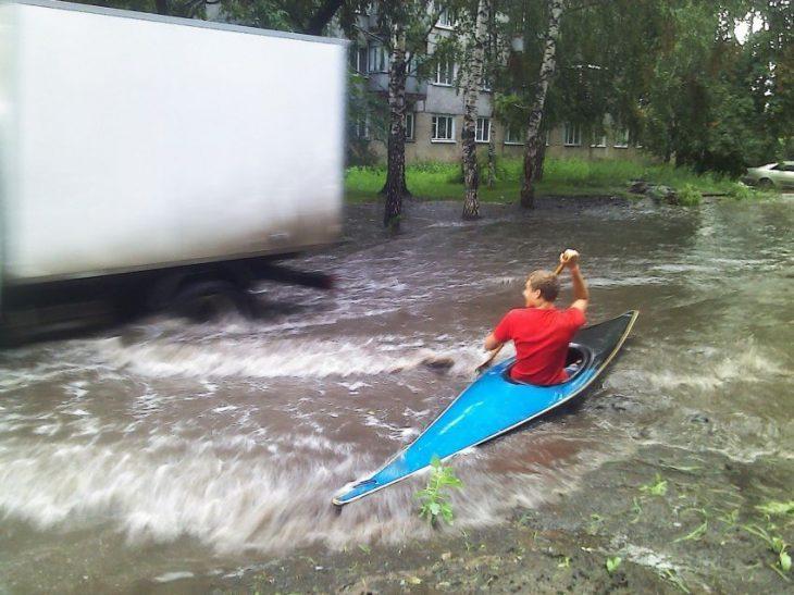 Cosas raras Rusia kayac