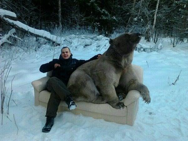 Cosas raras Rusia sillon