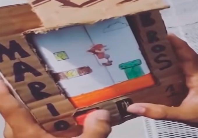 Súper Mario de cartón