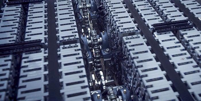 LEGO Buggatti Chiron motor