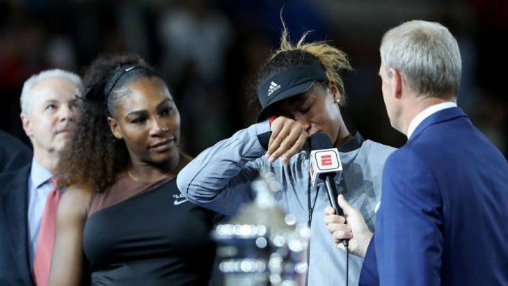 Serena y naomi osaka