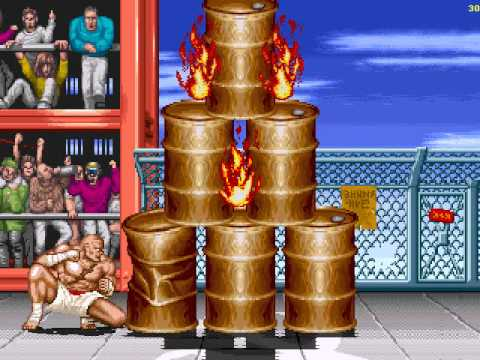 Street Fighter bonus