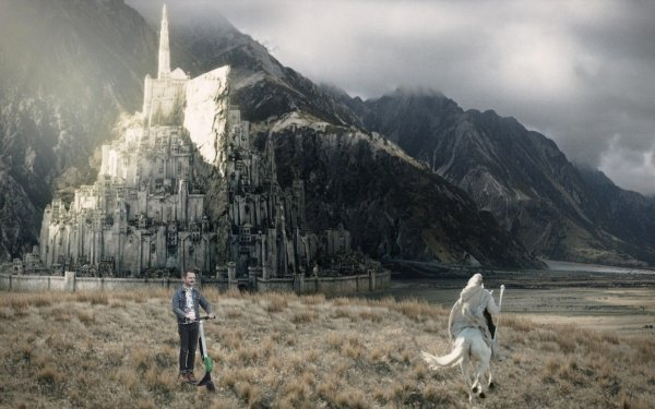 Elijah Wood en Batalla de Photoshop