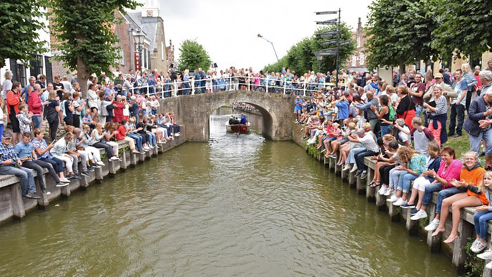 Canal en Holanda