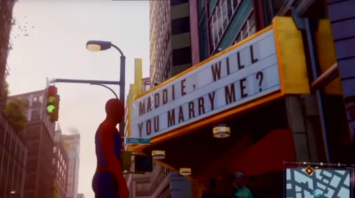 Easter Egg en Marvel's Spider-Man